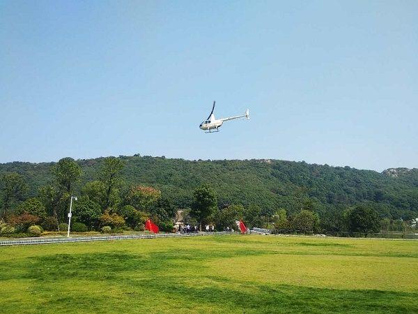 开飞!湖南岳阳首个直升机低空旅游项目启动