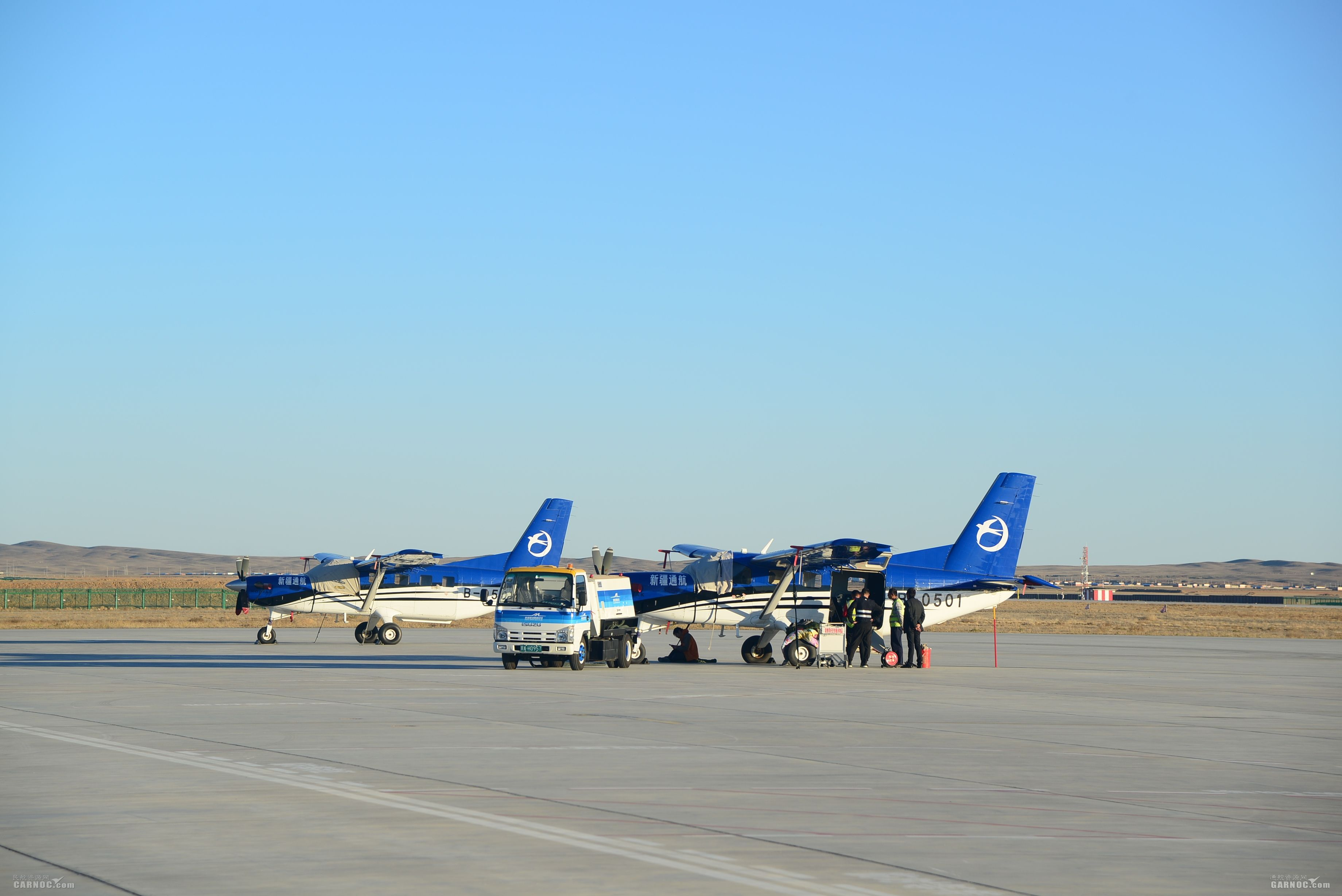 富蕴-喀纳斯航线国庆假期飞行10架次、运输29人