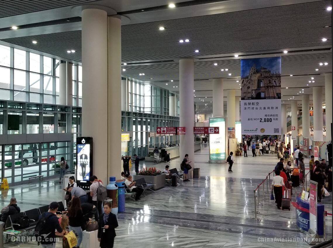 澳門機場第三季表現理想 運送旅客215萬人次