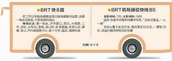 厦门BRT高崎机场站将于15日启用