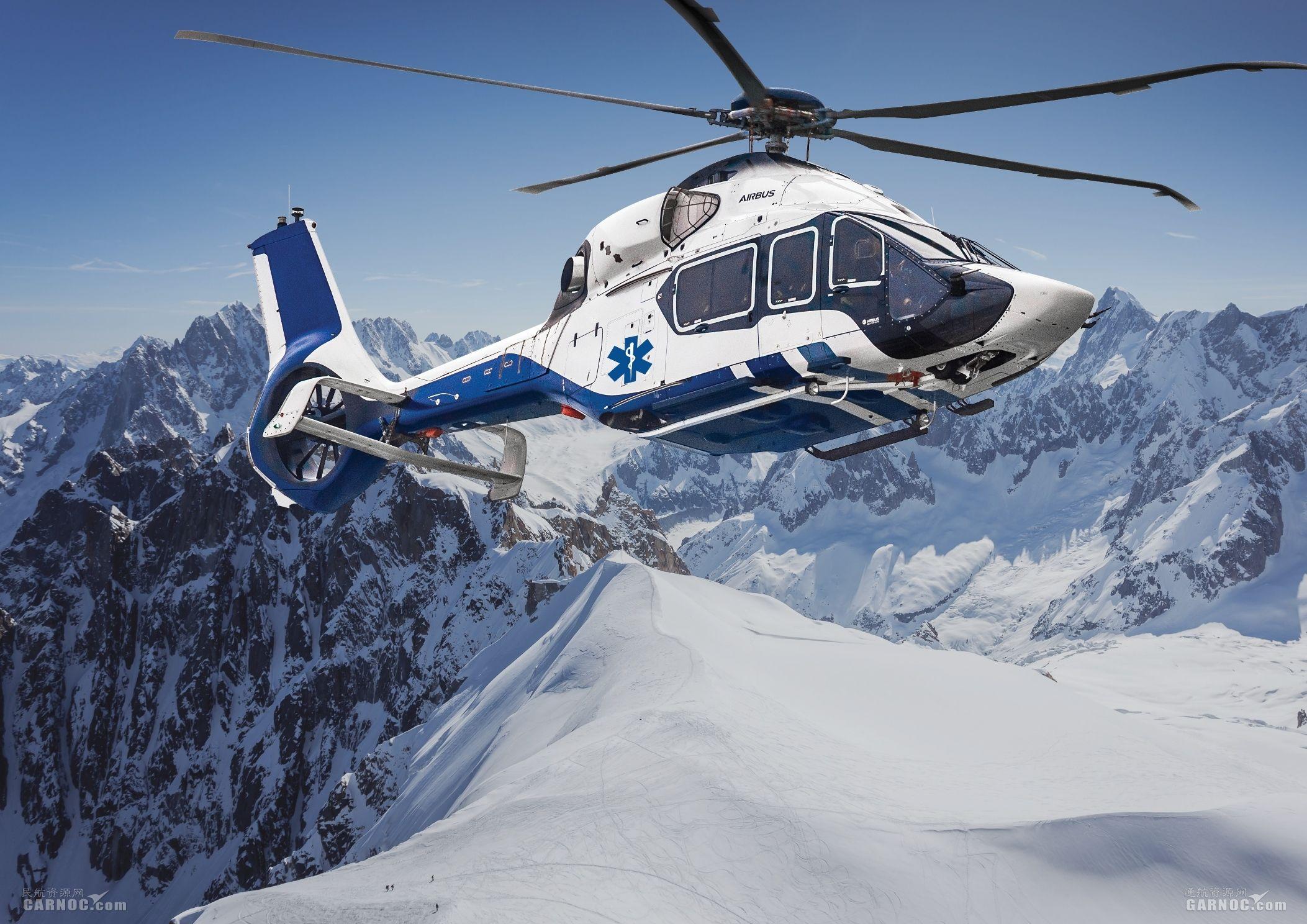 空客在国际直升机技术展会展示紧急医疗服务能力
