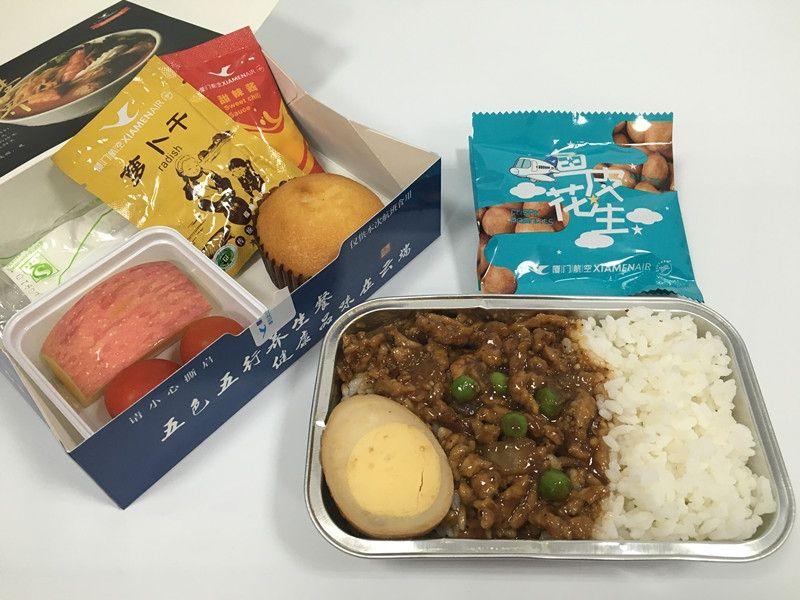 厦航第四季度菜谱上线 新面貌获旅客肯定