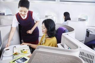 全新升级的国航A350超经舱名字诞生啦!