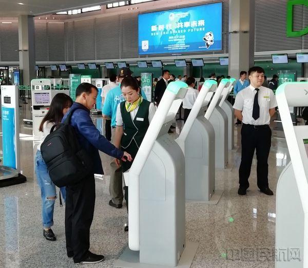 上海虹桥机场T1 B楼启用  早高峰无人误机