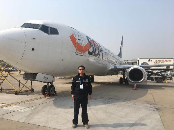 机务工程师刘洪福: 喜欢跟飞机打交道的排故高手