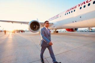 吉祥航空首架787交付  图片来源:吉祥航空微博