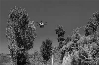 中通无人机在陕西完成首次载货飞行