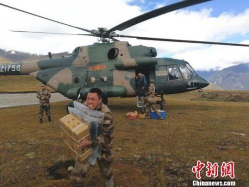 西藏启用直升机向安置点运送物资|新闻动态-飞翔通航(北京)服务有限责任公司