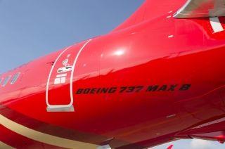 昆明航空首架737MAX8试飞  图片来源:波音