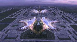 天府机场内部设计曝光!机场交通建设全盘点