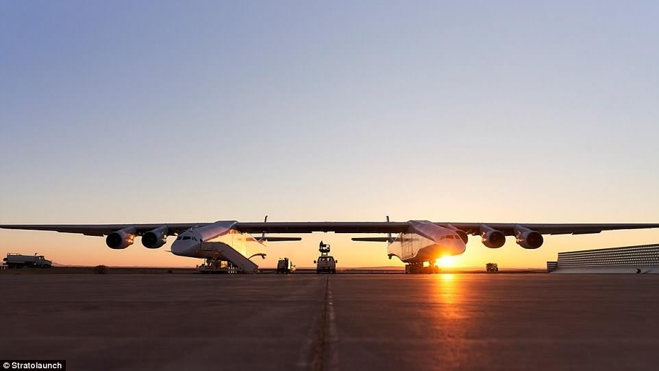 Stratolaunch离首飞可能只有数月时间了。来源:Stratolaunch公司官网