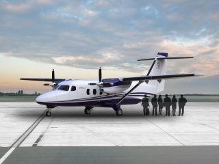 德事隆航空首次展示赛斯纳408空中快车模型