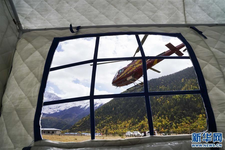 雅江堰塞湖区:雪山脚下的空中救援|新闻动态-飞翔通航(北京)服务有限责任公司