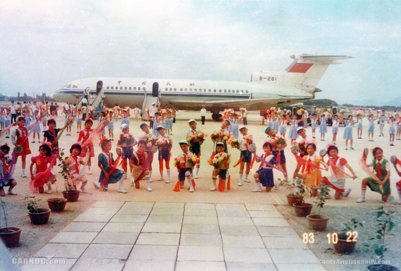 1983年厦门机场正式通航