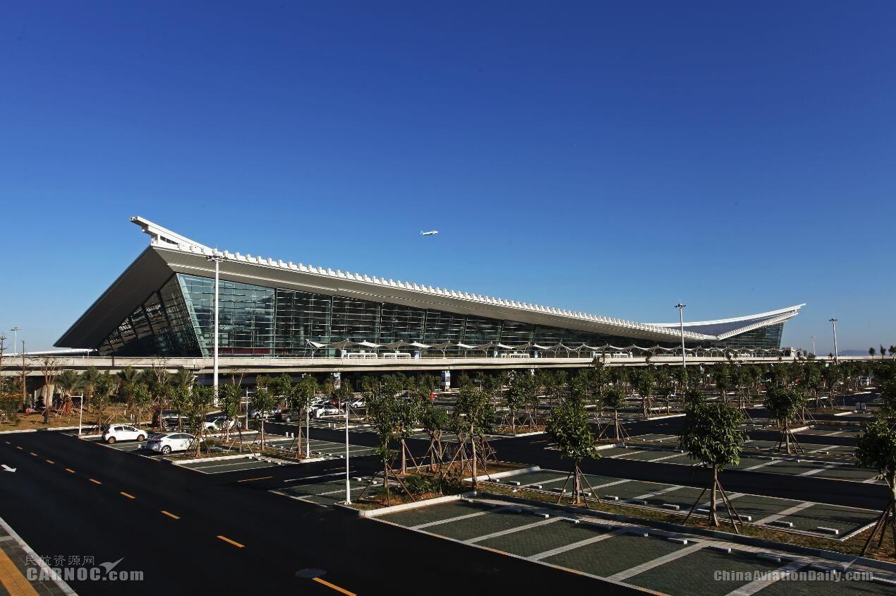 2014年厦门机场T4候机楼正式启用