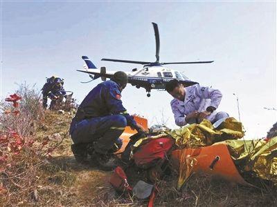 为救驴友警方启用直升机 专家:驴友应缴纳费用
