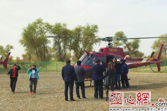 3条航线!新疆沙雅县开启低空旅游服务