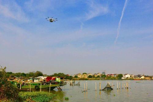 顺丰拿下阳澄湖空域 涉猎无人机水产生鲜运输