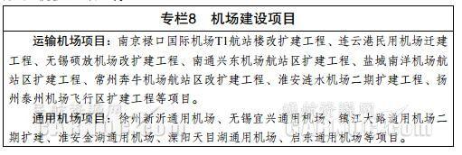江苏:加快推进通用机场建设 积极推动空域优化|新闻动态-飞翔通航(北京)服务有限责任公司