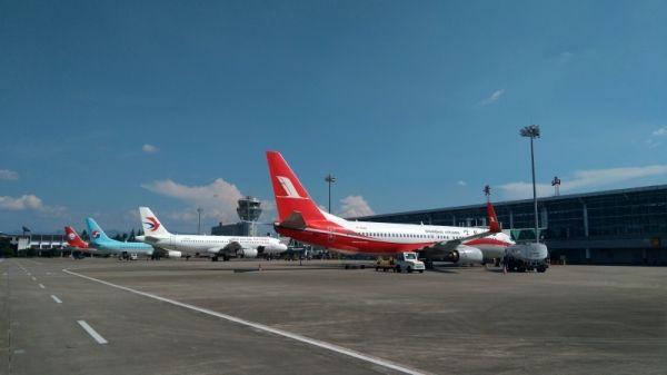 黄山机场10月28日起开始执行冬春航班计划