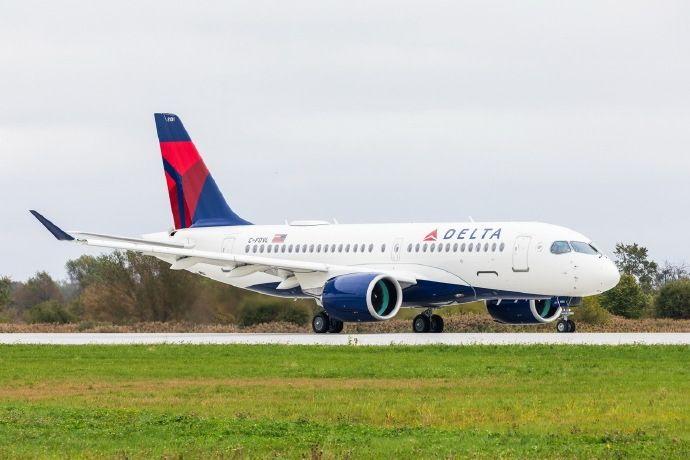 达美航空接收其首架A220飞机