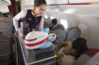 感受天津航空的第一天差异化服务