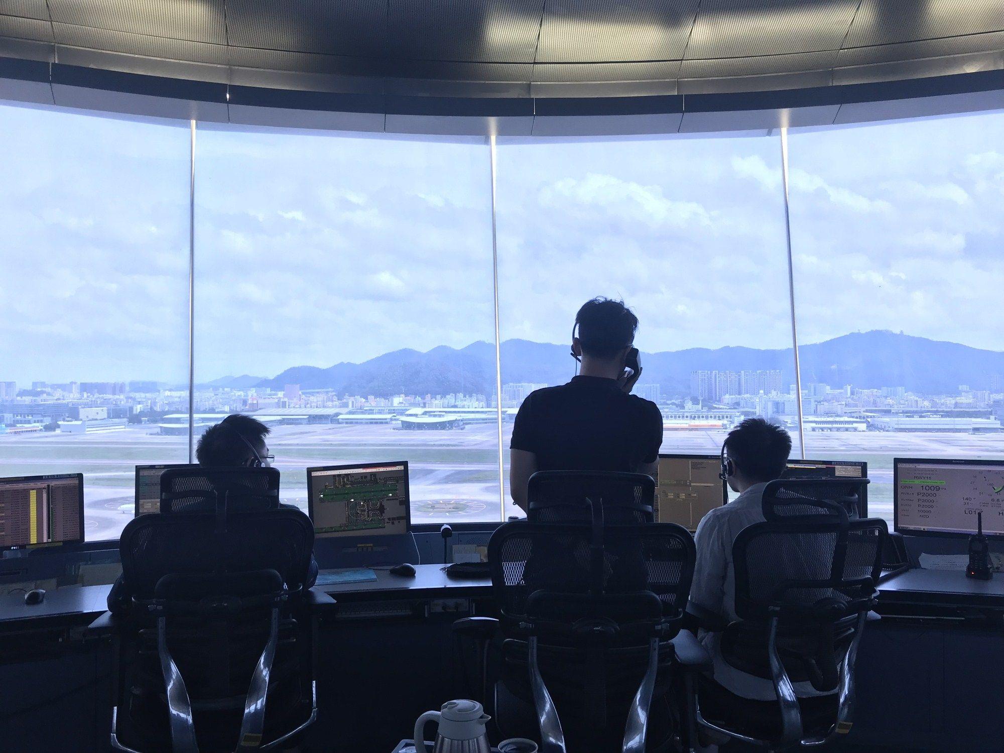 深圳空管站成功保障深圳伦敦洲际航线首航