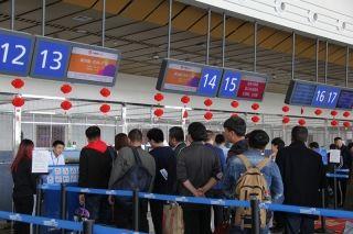 库尔勒机场春运前21天运输旅客11.5万人次