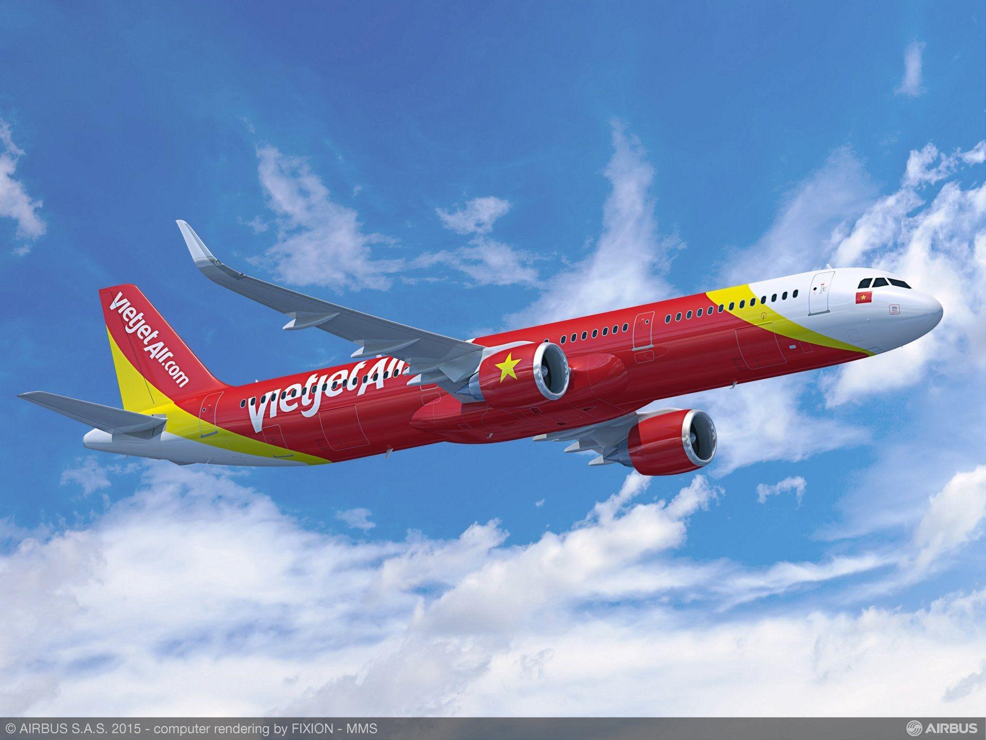民航早报:越捷将敲定65亿美元A321neo订单