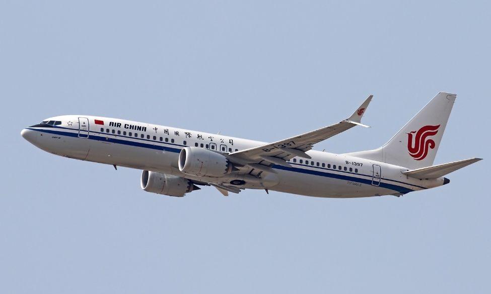 国航今年引进第12架737-8MAX飞机