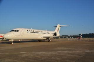 天骄航空ARJ21客机 摄影:Ason