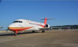 ARJ21支线客机三剑客
