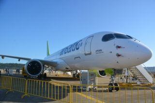 珠海航展 波罗的海航空A220飞机闪亮登场