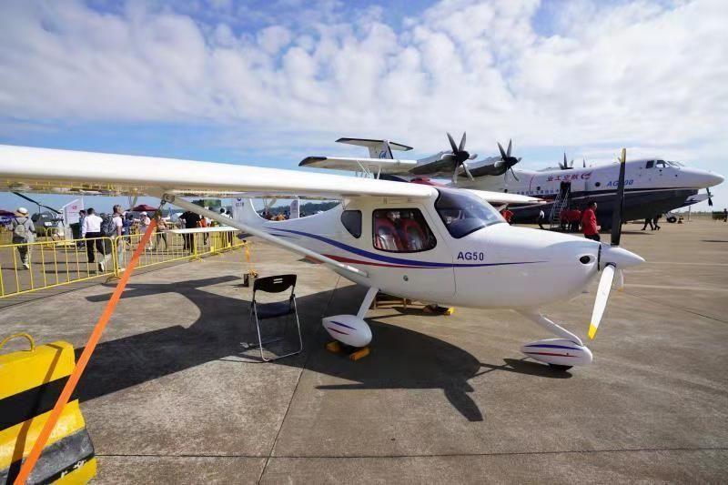 航空工业通飞售出50架AG50轻型运动飞机|新闻动态-飞翔通航(北京)服务有限责任公司