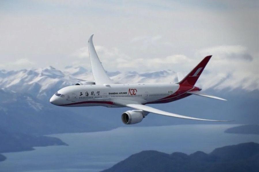 上航创意H5 邀你组装787梦想飞机