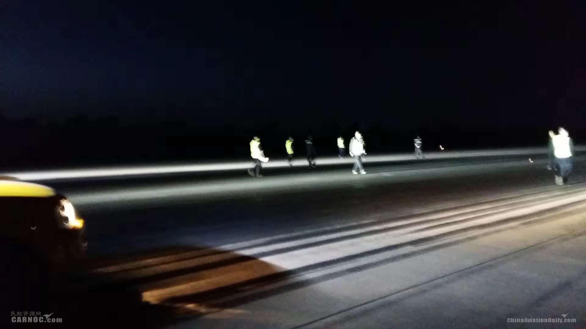 兰州中川国际机场跑道换板工程顺利完成