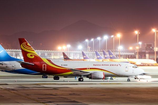 金鹏航空开通上海浦东往返武汉全货机航线