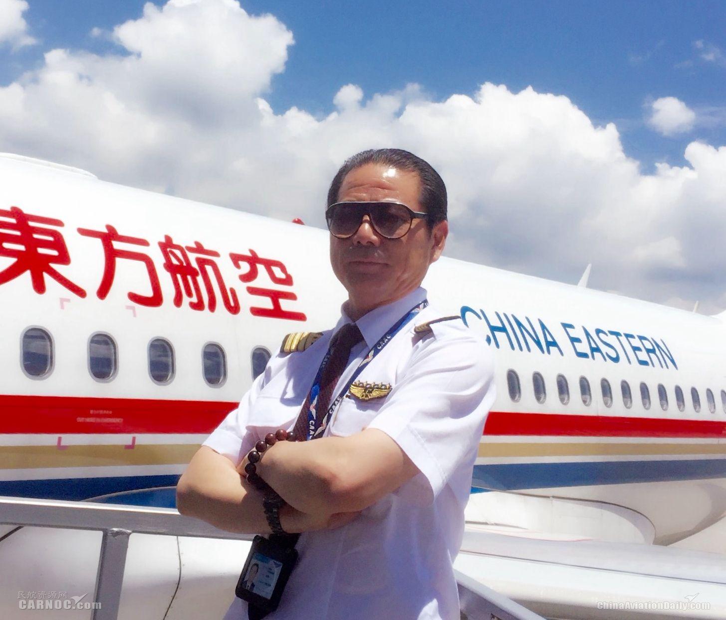 才子飞行员姬景山:我的情怀在蓝天