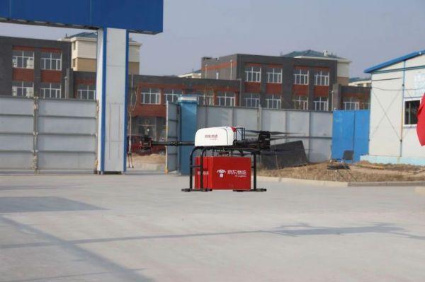 内蒙古和林格尔新区开启物流末端无人配送模式