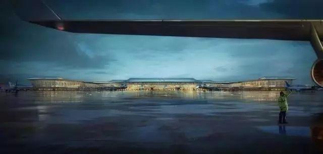 西安咸阳国际机场T5航站楼效果图曝光