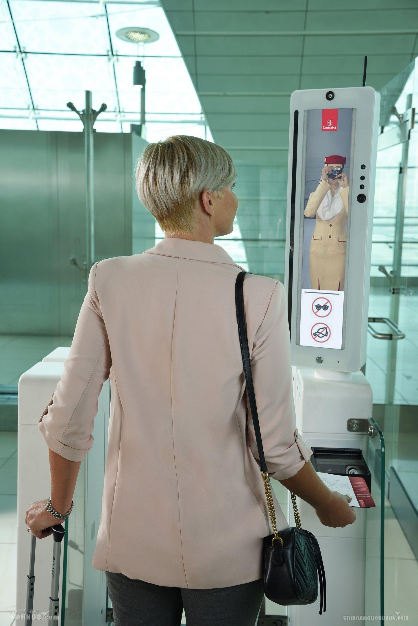 2 生物识别设施为阿联酋航空乘客提供便捷机场体验