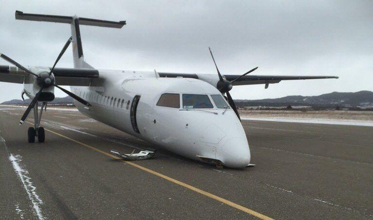PAL航空一架客机紧急备降机鼻着地 无人受伤
