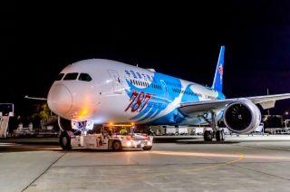 第787架波音787完成喷涂!即将加入南航机队