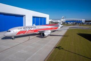 阿提哈德航空全新F1主题涂装787-9飞机亮相