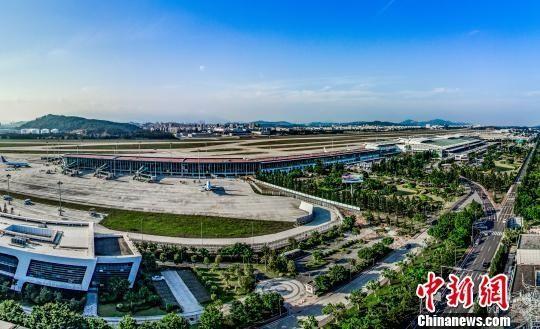 福州机场航站楼扩建竣工 2020年旅客吞吐量将达2500万