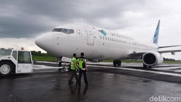 印尼鷹航一架客機沖出跑道 無人受傷