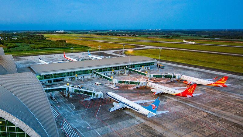 北海机场旅客吞吐量超205万人次