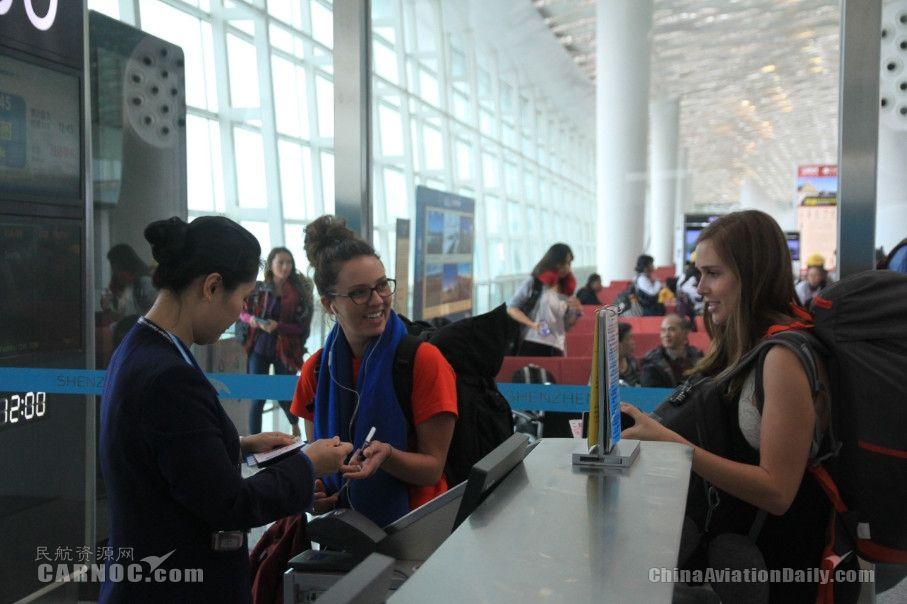 图片 深圳机场转场五年运送旅客超2亿 国际航空枢纽崛起