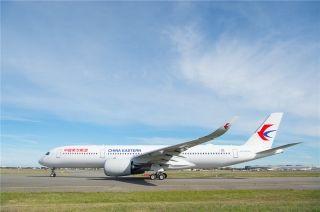 东航即将接收其首架A350,精彩照片抢先看!