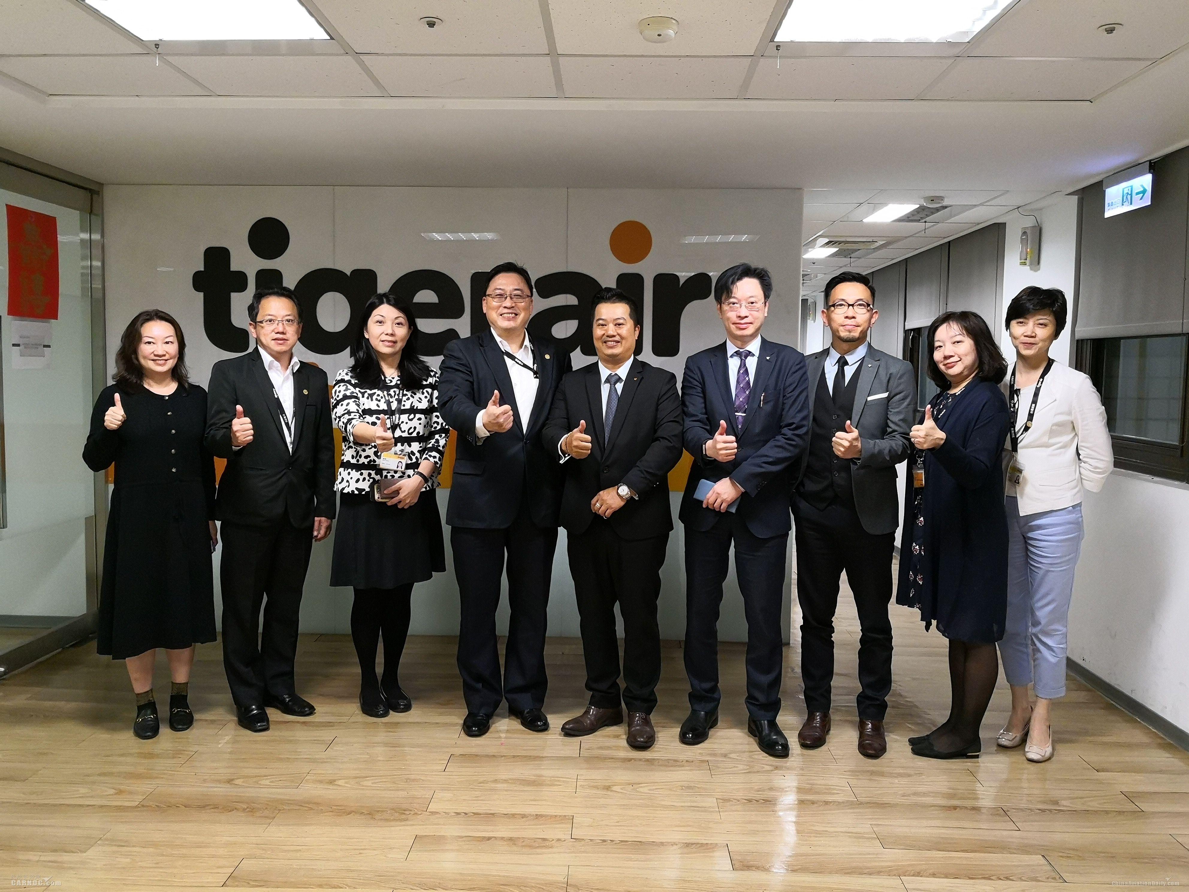 CAM代表拜访台湾各航司 探讨未来航线发展